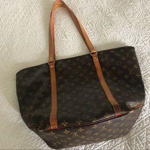 Louis Vuitton Sac Shopping Brown Monogram Tote